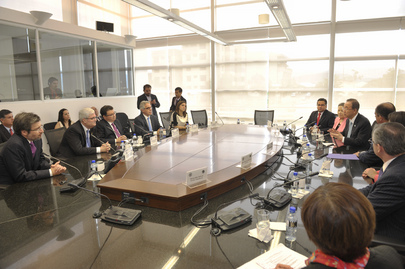 Secretary-General Meets Judges at Inter-American Court of Human Rights