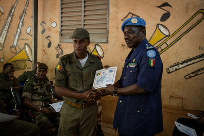 MINUSMA Conducts Training for Mali's National Guard and Police