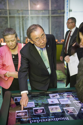 Secretary-General Tours Jade Museum in San José