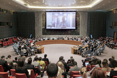 Security Council Briefed on Humanitarian Situation in Gaza