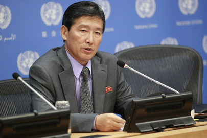 Press Conference by DPRK Representative