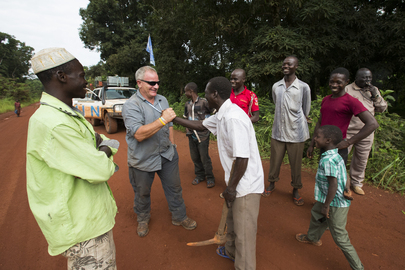 UN Security Team Conducts Road Assessment in South Sudan