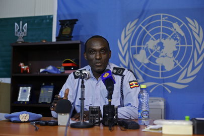Press Briefing on UNPOL Role Under New UNMISS Mandate