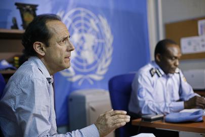 Press Briefing on UNPOL Role Under New UNMISS Mandate
