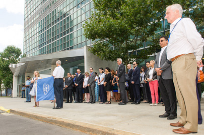UN Staff Honour Colleagues Fallen in Gaza