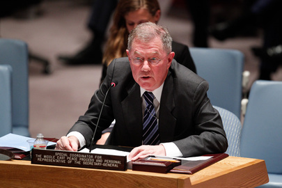 Special Coordinator for Middle East Peace Process Briefs Security Council