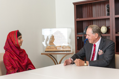 Deputy Secretary-General Meets with Malala