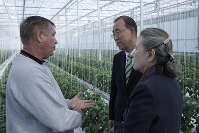 Secretary-General Shown New Zealand's Renewable Energy Efforts