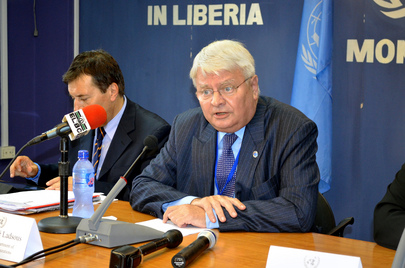 Peacekeeping Chief Visits Liberia, Assesses Ebola Outbreak
