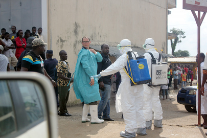 Health Workers in Liberia Battle Ebola