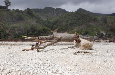 Flooding Ravages Southeastern Haiti