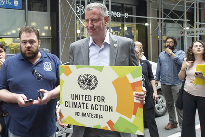 People's Climate March, New York