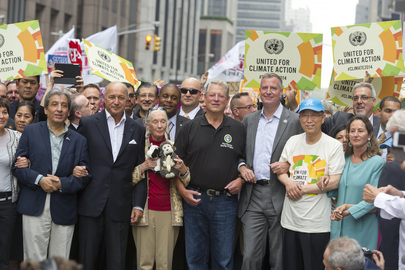 Secretary-General Joins People's Climate March, New York