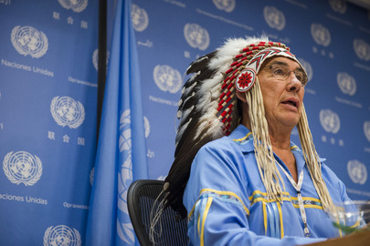 Press Conference by IPU on World Conference on Indigenous Peoples