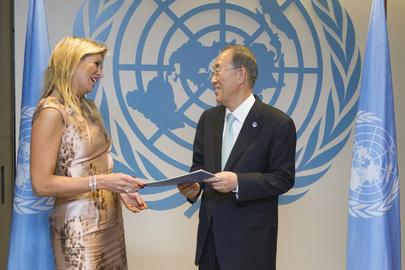 Secretary-General Meets Special Advocate for Inclusive Finance