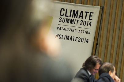 Scenes from Climate Summit 2014