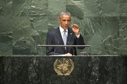 United States President Addresses General Assembly