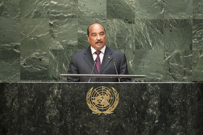 President of Mauritania Addresses General Assembly