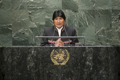 President of Bolivia Addresses General Assembly