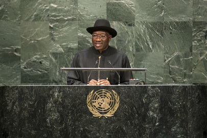 President of Nigeria Addresses General Assembly