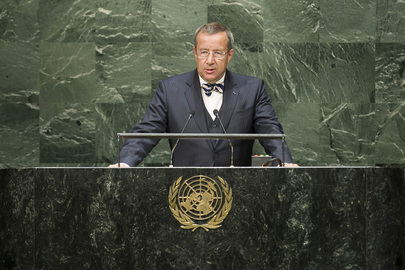 President of Estonia Addresses General Assembly