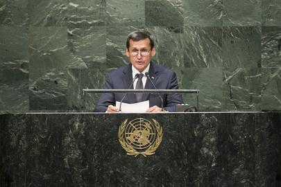 Deputy Prime Minister of Turkmenistan Addresses General Assembly