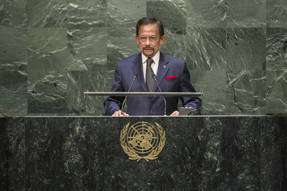 Sultan of Brunei Darussalam Addresses General Assembly