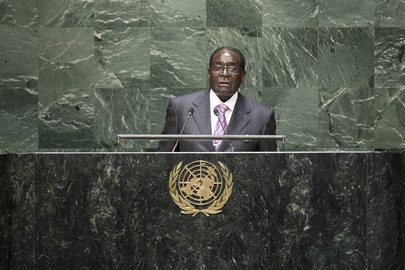 President of Zimbabwe Addresses General Assembly