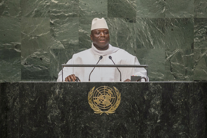 President of the Gambia Addresses General Assembly