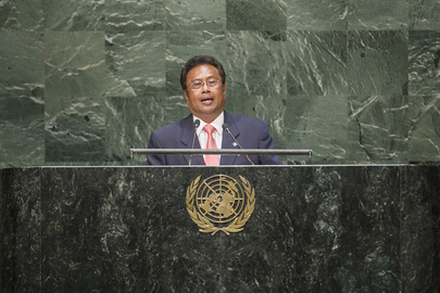 President of Palau Addresses General Assembly