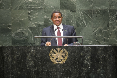 President of Tanzania Addresses General Assembly
