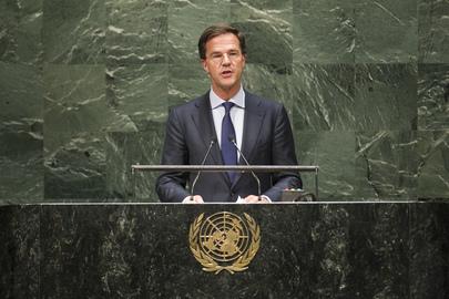Prime Minister of Netherlands  Addresses General Assembly