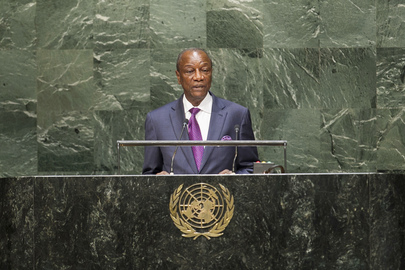President of Guinea Addresses General Assembly