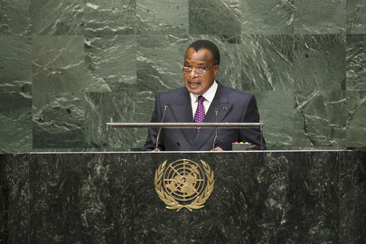 President of Republic of Congo Addresses General Assembly