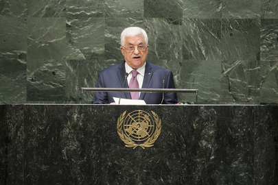 Palestinian President Addresses General Assembly