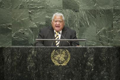Prime Minister of Samoa Addresses General Assembly