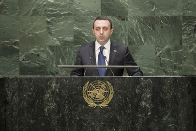Addresses General Assembly Prime Minister of Georgia