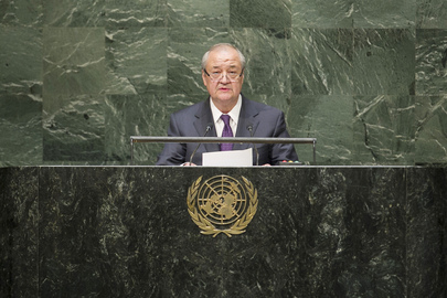 Foreign Minister of Uzbekistan Addresses General Assembly