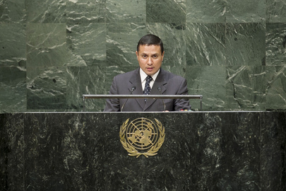 Foreign Minister of Guatemala Addresses General Assembly