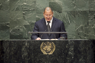King of Tonga Addresses General Assembly