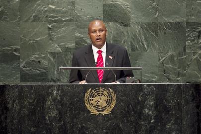 Vice President of Burundi Addresses General Assembly