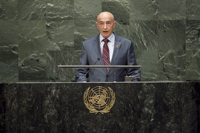 Head of Libyan House of Representatives Addresses General Assembly