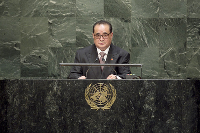 DPRK Foreign Minister Addresses General Assembly