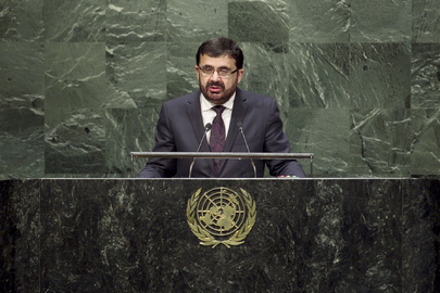 Foreign Minister of Afghanistan Addresses General Assembly