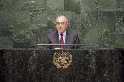 Foreign Minister of Portugal Addresses General Assembly