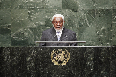 Prime Minister of Vanuatu Addresses General Assembly