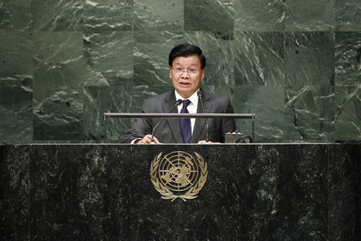 Deputy Prime Minister of Laos Addresses General Assembly