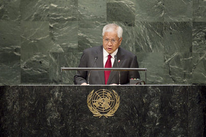 Secretary for Foreign Affairs of the Philippines Addresses General Assembly