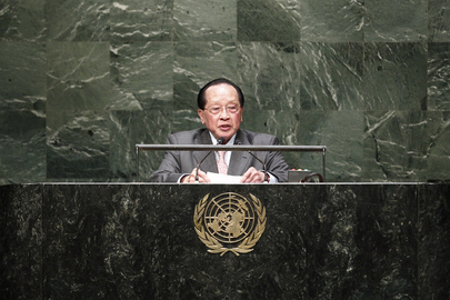 Deputy Prime Minister of Cambodia Addresses General Assembly