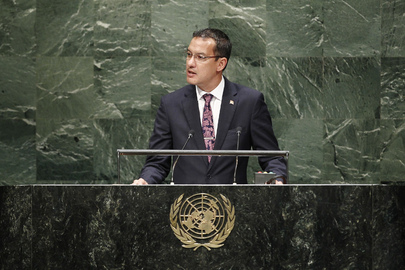 Foreign Minister of Grenada Addresses General Assembly